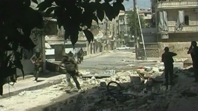 pkg neely syria fighting in three cities_00001123