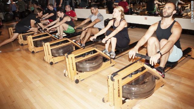 New York's Equinox gym is one of many using the Indo-Row machine.