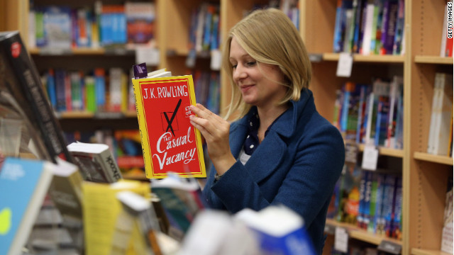 J.K. Rowling's new book not for kids