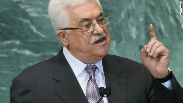 Abbas slams Israel, seeks status upgrade