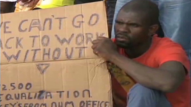 AngloGold Ashanti strike halts mining
