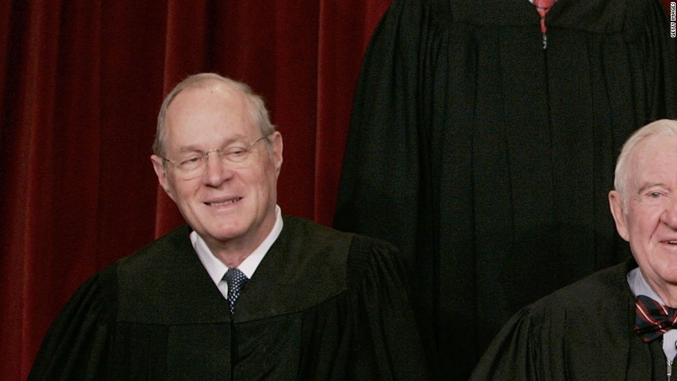 Kennedy was appointed to the court by President Ronald Reagan in 1988. He is a conservative justice but has provided crucial swing votes in many cases. He has authored landmark opinions that include Obergefell v. Hodges, which legalized same-sex marriage nationwide.