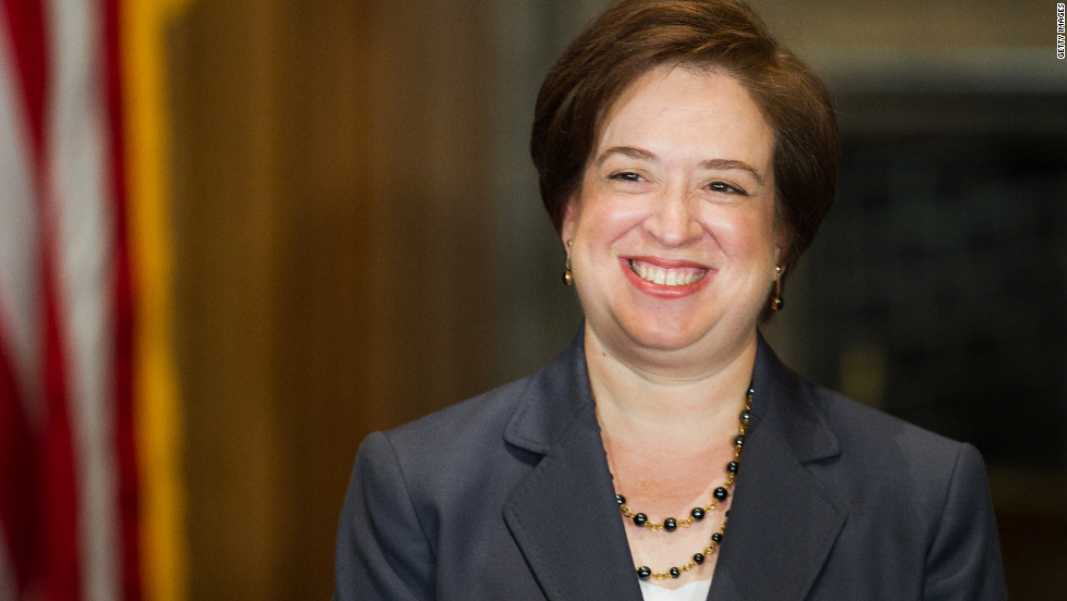 Kagan is the fourth female justice to ever be appointed, and she is counted among the court's liberal wing. She was appointed by Obama in 2010 at the age of 50. She is the court's youngest member.