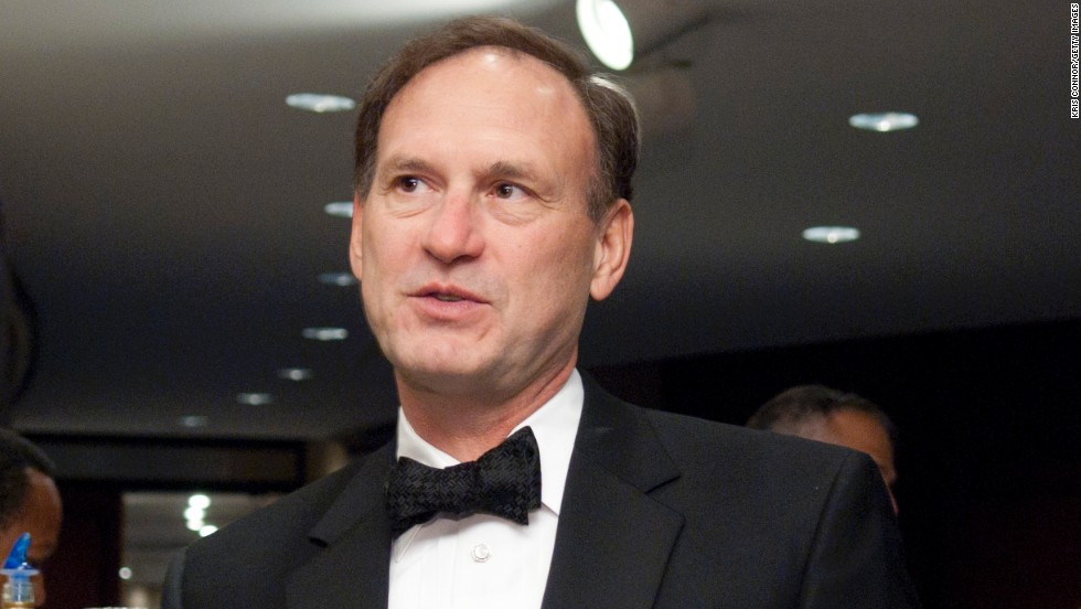 Alito was appointed by President George W. Bush in 2006 and is known as one of the most conservative justices to serve on the court in modern times.