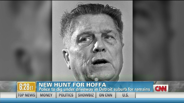 2012: New hunt for Hoffa's remains
