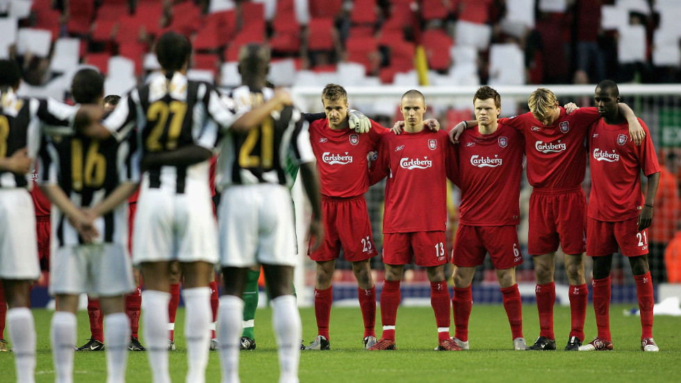 Liverpool met Juventus in a competitive match for the first time since that fateful day in 2005's Champions League quarterfinal tie. Liverpool won 2-1 on aggregate and went on to to win the European Cup after beating AC MIlan on penalties in Istanbul.
