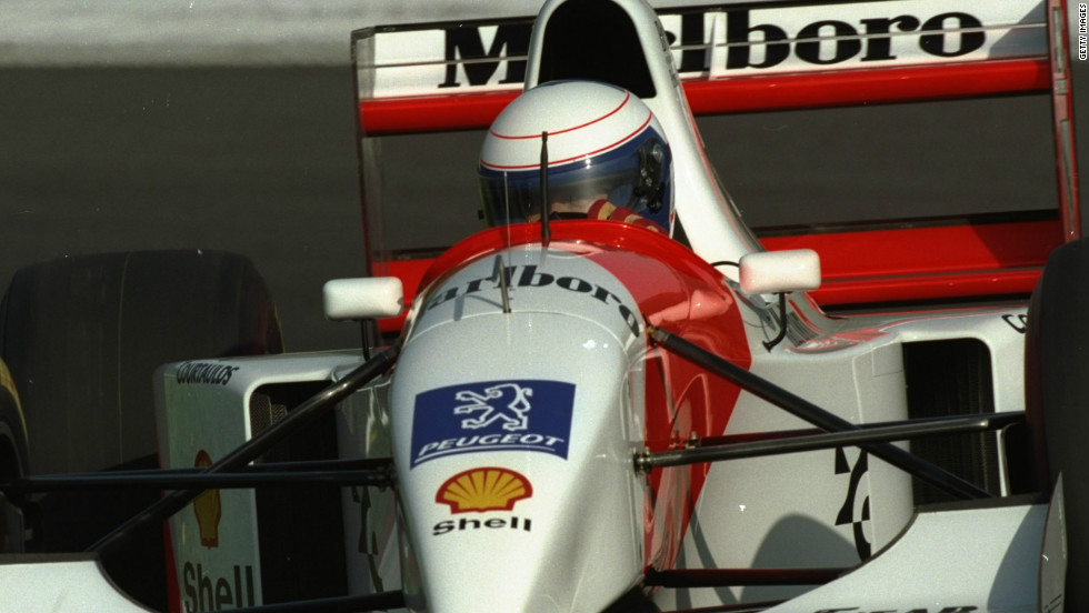 Prost's time with McLaren proved the most fruitful of his career as he captured three world titles.