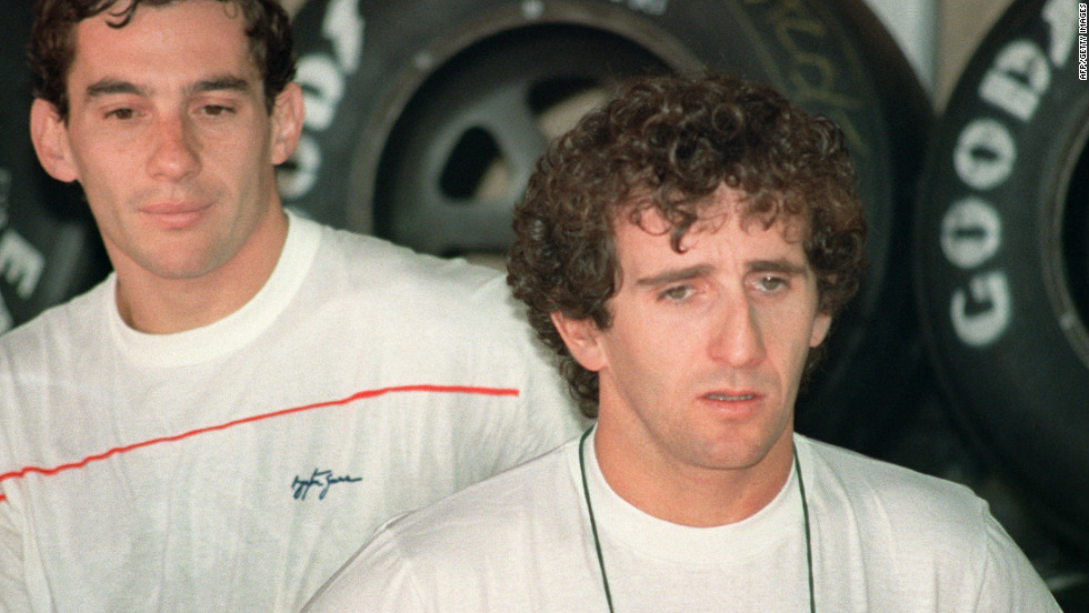 As they both battled for world titles at McLaren, Prost and Senna's relationship came under great strain.