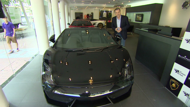 China's luxury car market sees growth