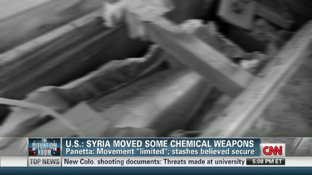 Panetta on Syrian Chem Weapons