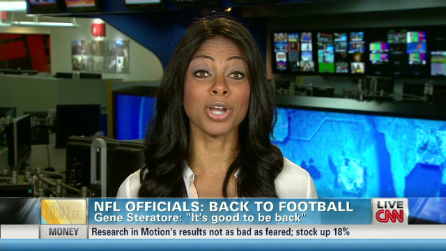 NFL Officials: Back to Football