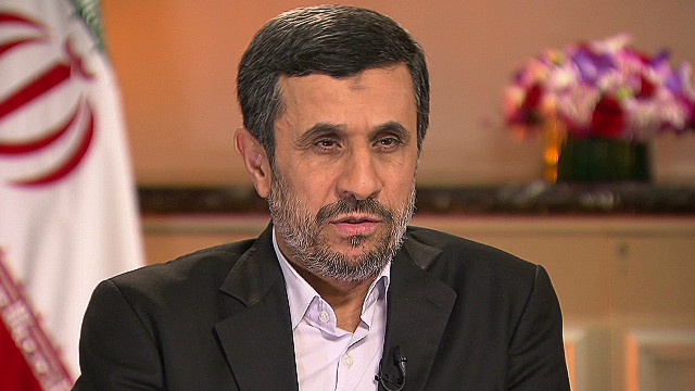 exp Ahmadinejad on the West bluffing_00004821