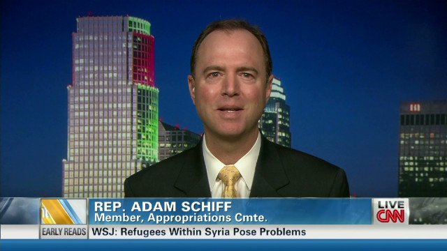 Rep. Adam Schiff on debate showdown