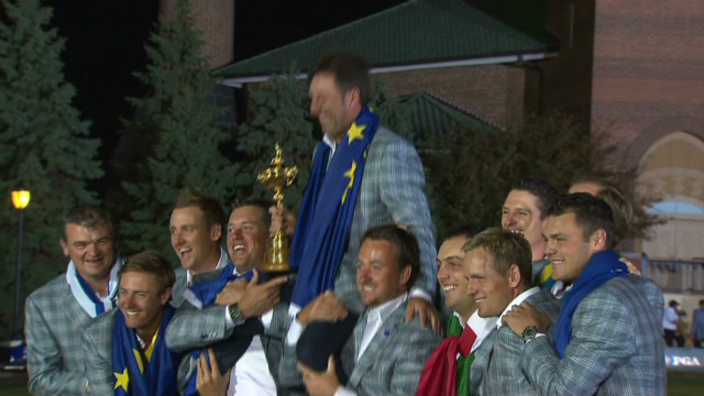 Europe's historic Ryder Cup comeback