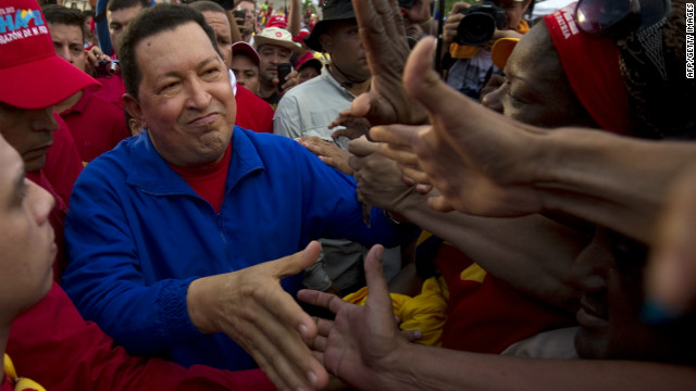 Hugo Chavez looks to change his image