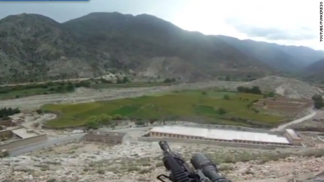 NR helmet cam captures firefight in Afghanistan _00002603