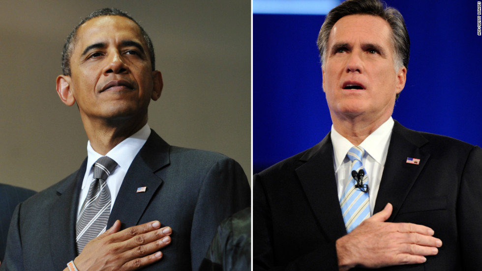 President Barack Obama and Republican candidate Mitt Romney are set to battle it out for the keys to the White House.