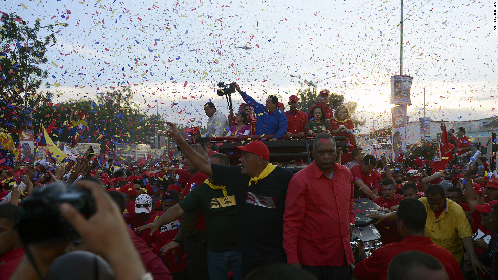 Presumably because of his health, Chavez has not held as many rallies or traveled as often as he has in previous campaigns. His re-election effort has been mostly through presidential addresses that state-run television stations are mandated to carry.