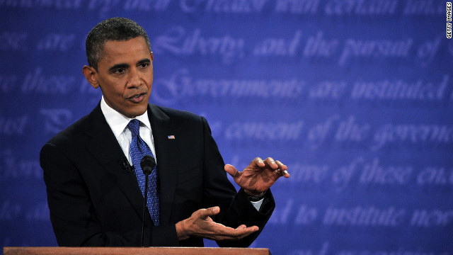 Obama admits bad debate night