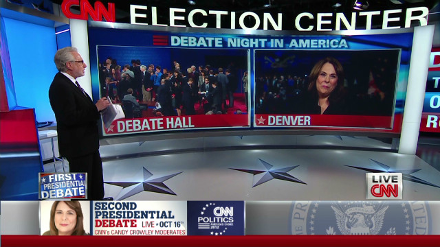 Candy Crowley on debate moderators' responsibility