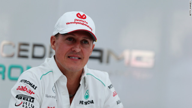 Germany's Michael Schumacher made his Formula One debut at the 1991 Belgian Grand Prix.