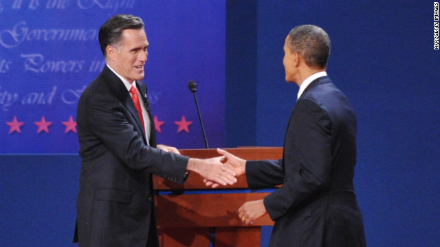 Who won the presidential debate?