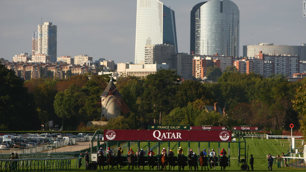 The Qatar Racing and Equestrian Club-sponsored event is the richest in Europe, with almost €8 million ($10.4 million) in prize money on offer over the weekend.