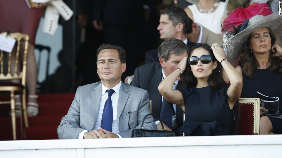France's Industry Minister Eric Besson and wife Yasmine Tordjman also brought glamor to the stands in 2011. Politicians are a common sight at Longchamp, with many owning race horses.