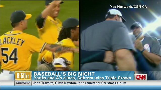 Baseball's big night