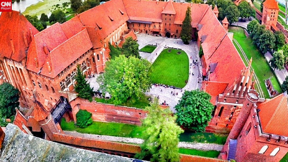 "The Castle of the Teutonic Knights in Poland is a UNESCO World Heritage Site and a ""must see"" says iReporter  Roberta Cucchiaro. ""The Castle was the home of the Teutonic Knights and a pure Medieval beauty! A pearl in Poland, in Europe and in the world,"" she says."