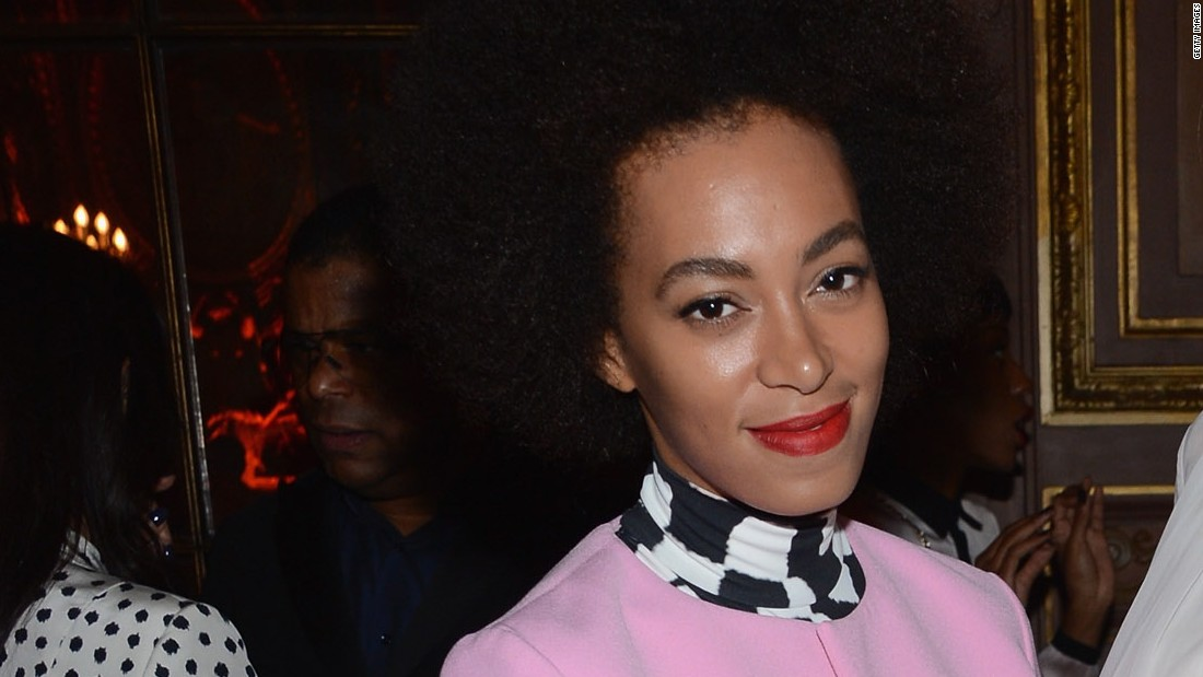 Celebrities like Solange Knowles have made black hair in its curly 'natural' state fashionable worldwide.
