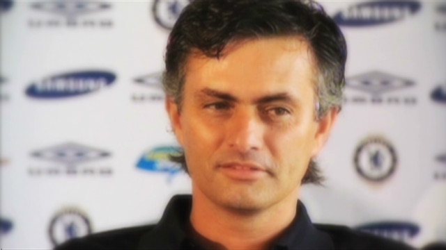 José Mourinho's press conference antics