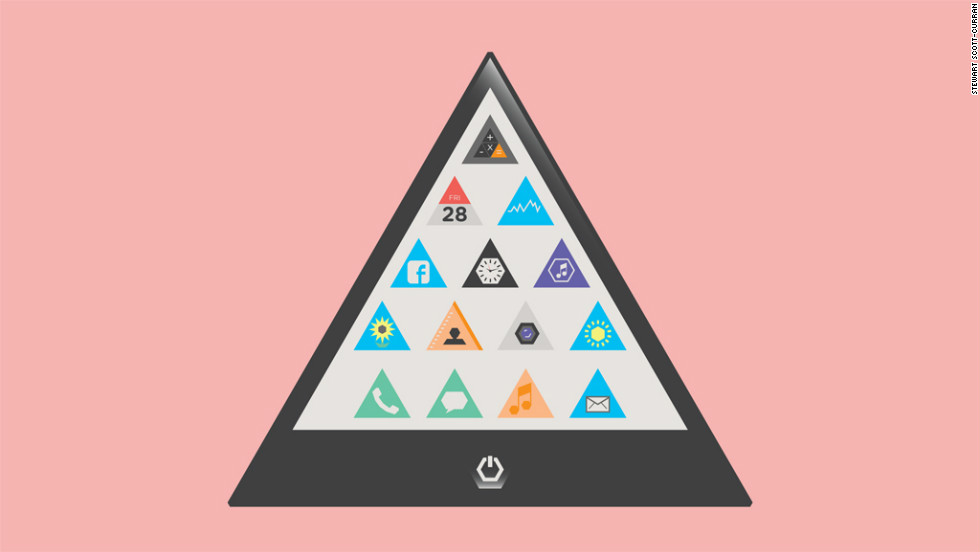 In 5 years: After the Patent Wars in which Apple emerged victorious, rivals embrace triangular forms.