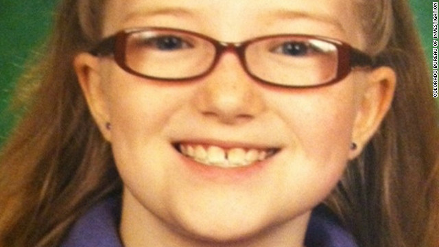 Jessica Ridgeway, 10, disappeared while walking to Witt Elementary School on October 5.