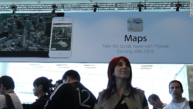 Users of Apple's maps app have complained about incorrect maps and satellite views that just don't make sense.