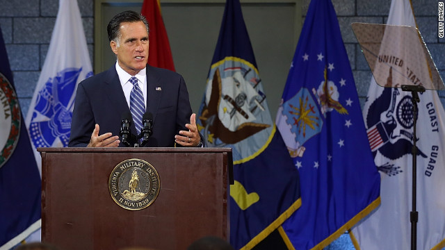 Romney: Hope is not a strategy