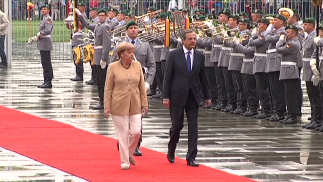 Greece fears unrest during Merkel visit