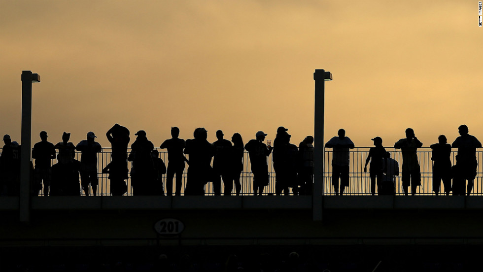 Fans watch the Jaguars-Bears game Sunday in Jacksonville.