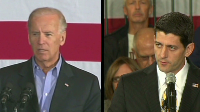 Pressure on Biden and Ryan in debate