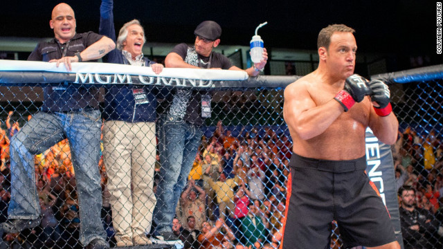 "Kevin James stars as a biology teacher/MMA fighter in ""Here Comes the Boom."""