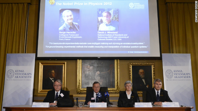 The Nobel Prize in Physics has been awarded jointly to Serge Haroche and David J. Wineland.