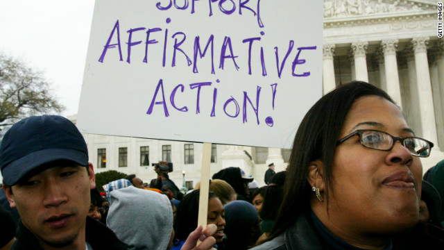 Supreme Court hears affirmative action case