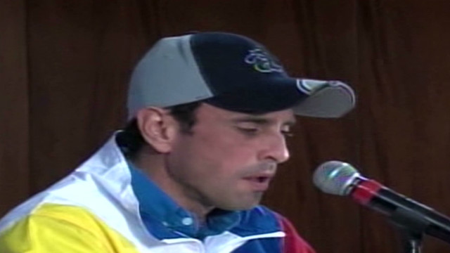 cnnee venezuela capriles speech_00000000