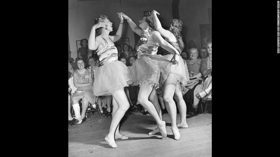 "Life described the ""Hefty Ballet"" as ""a choreographic burlesque devised by a local instructor."""