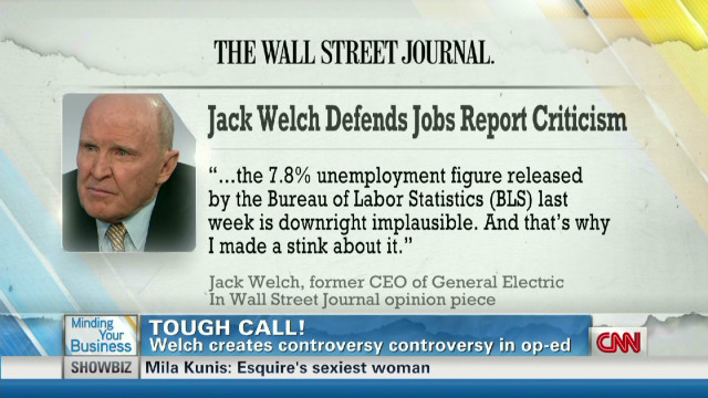 GE CEO defends BLS criticism in WSJ