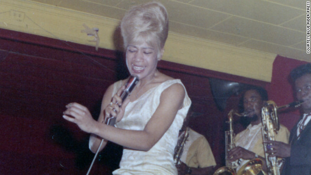 Bettye LaVette performs at Atlanta's Royal Peacock in 1965.