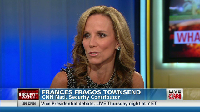 Townsend: 'Finger pointing' on Libya