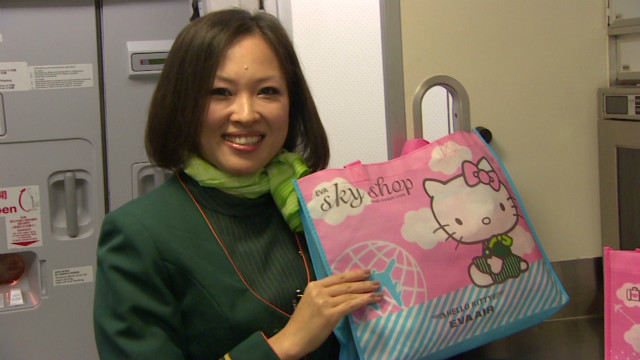 2012: Hello Kitty takes to the skies
