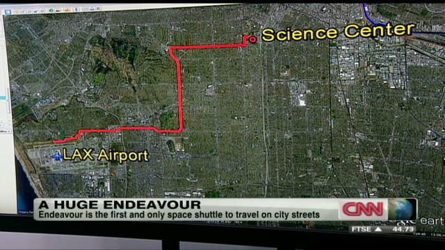 Endeavour's road trip