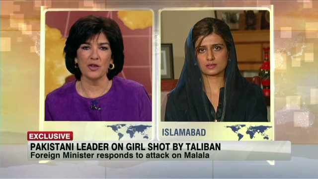 Pakistani FM on attack of young girl